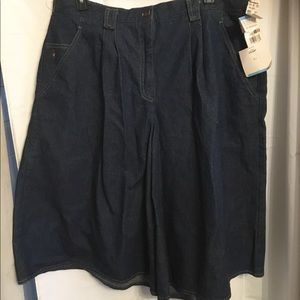 Other - NWT Blue Jean Culottes
